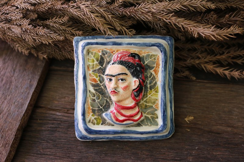 Ceramic Frida Kahlo