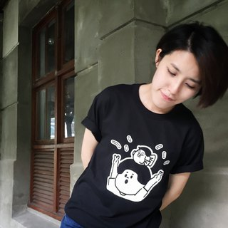 Anniversary Jie Tai - Black Summer Short Sleeve