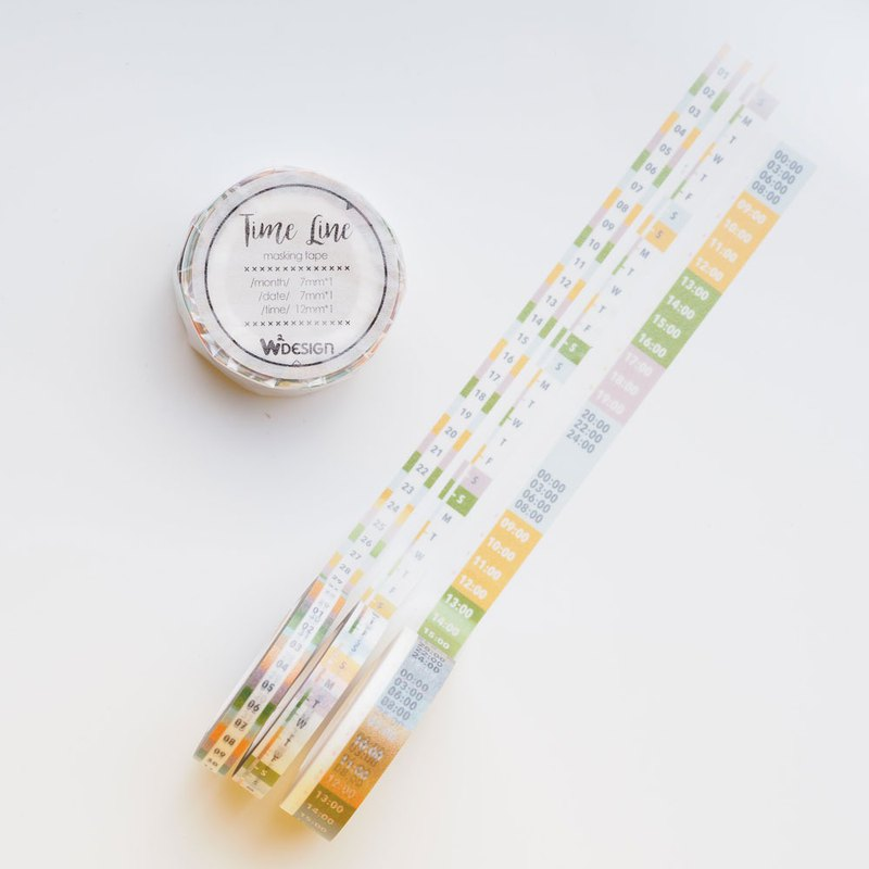 My TimeLine Timeline Paper Tape Set - Autumn Time