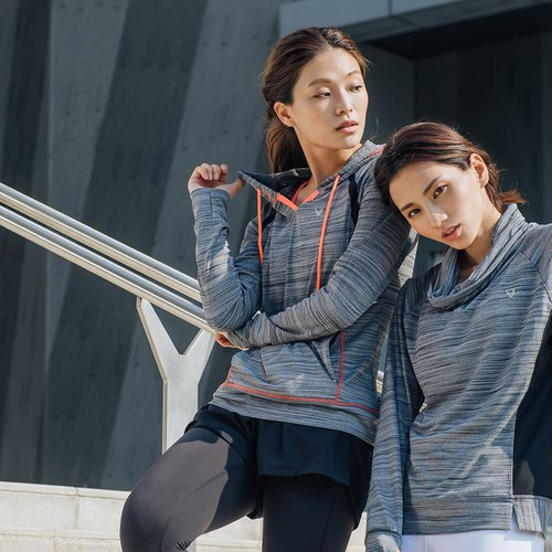 [City] MACACA victory V pattern cap rock T - BTT3251 (yoga / jogging / fitness / light movement)