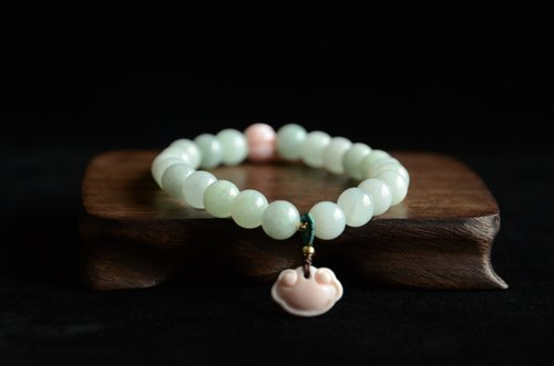 【Love】 Jade Original Fresh Art Bracelet