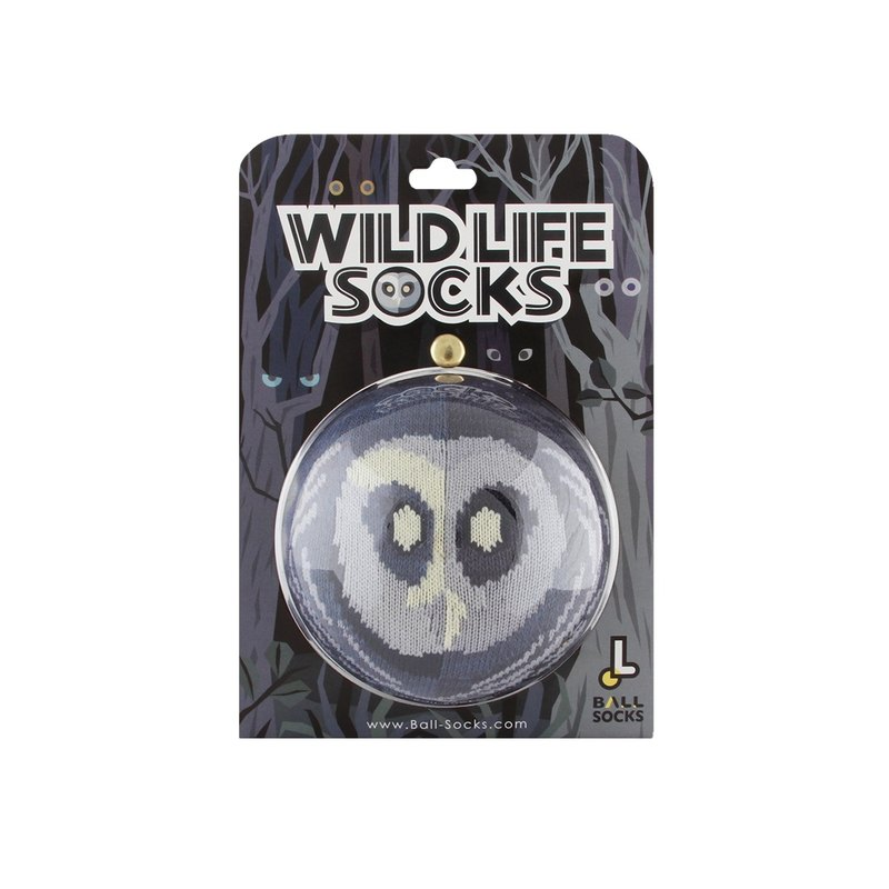Wildlife socks _ owl spotted owl