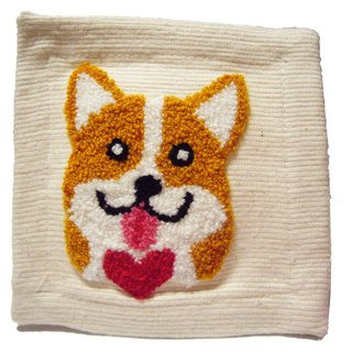 Corgi Fabric Coaster Corgi ‧ cloth coasters