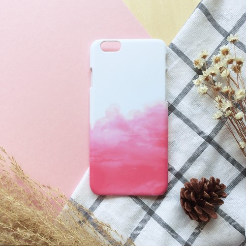 Pink clouds. Matte Case( iPhone, HTC, Samsung, Sony, LG, OPPO)