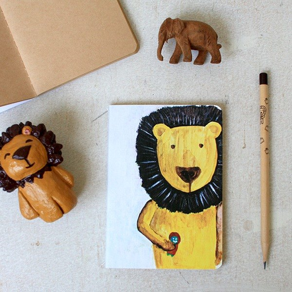 Small notebook | bulk lion