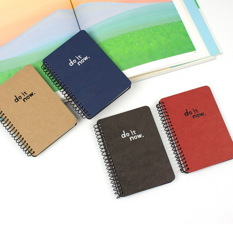 72K easy to tear ring notes / Notepad / universal notes / carry small notes (blank) - do it now