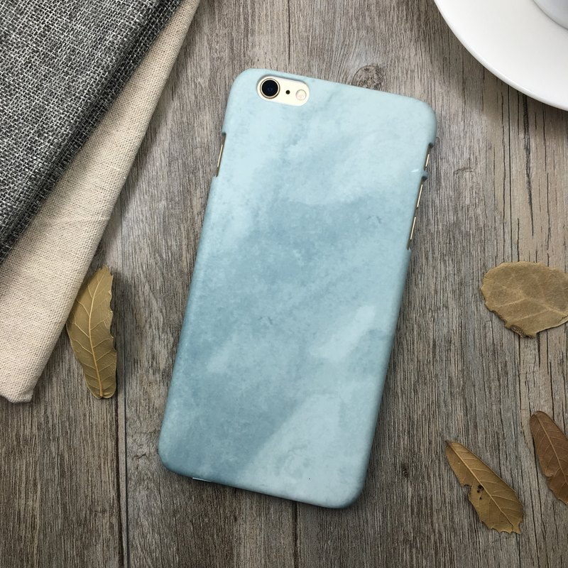 Blue Watercolor - Original Phone Case / Cover / Christmas Gift