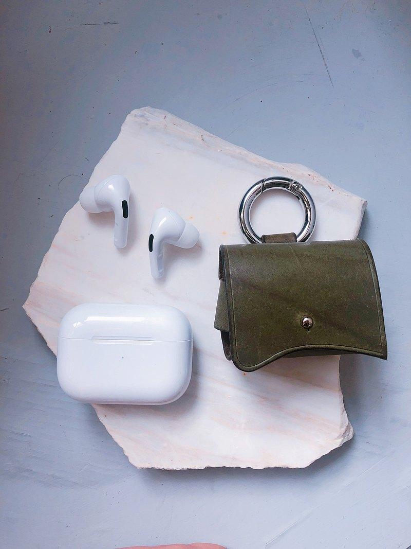 AirPods pro皮革保護套