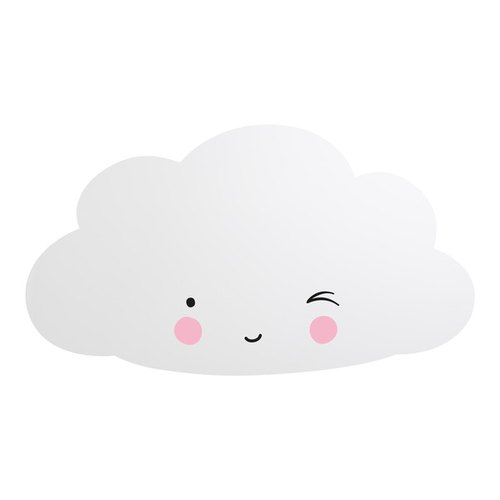Netherlands a Little Lovely Company - Healing Cloud Shape Mirror