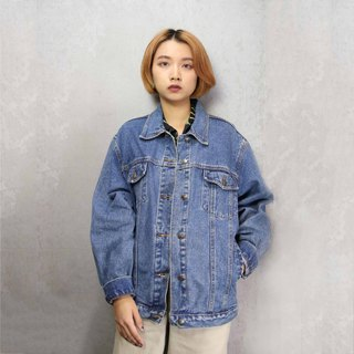 Tsubasa.Y ancient house A14 vintage denim jacket, denim denim jacket for men and women can wear