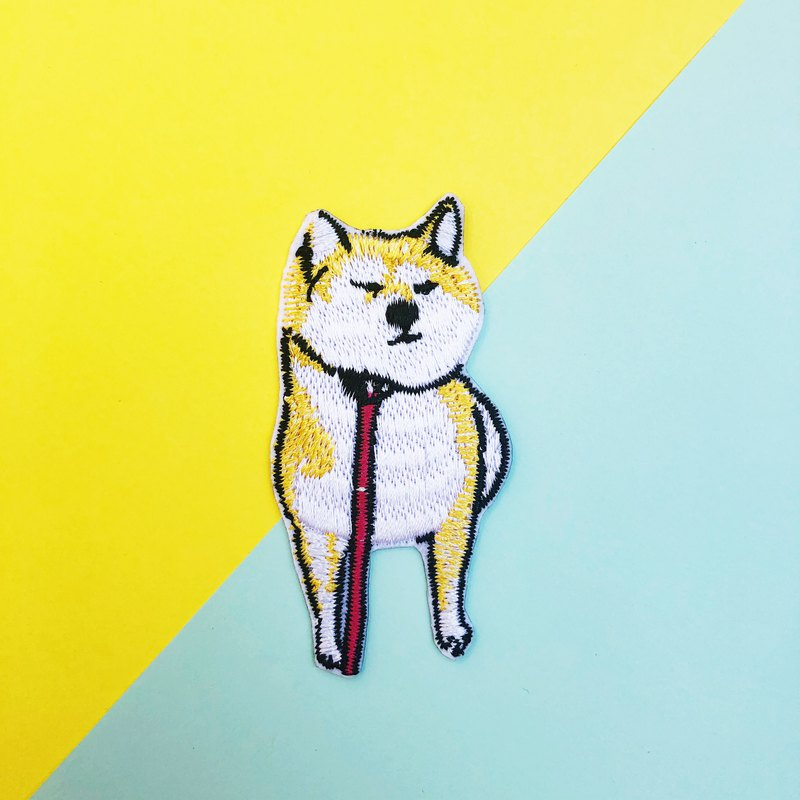 Do not want to go to Shiba Inu embroidery