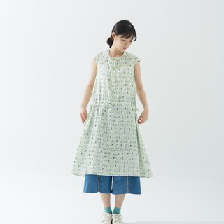 Milk bottle drawstring blouse dress