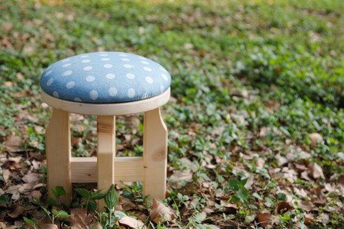 Mushroom Chair--Poka Dots--Waterproof Cloth