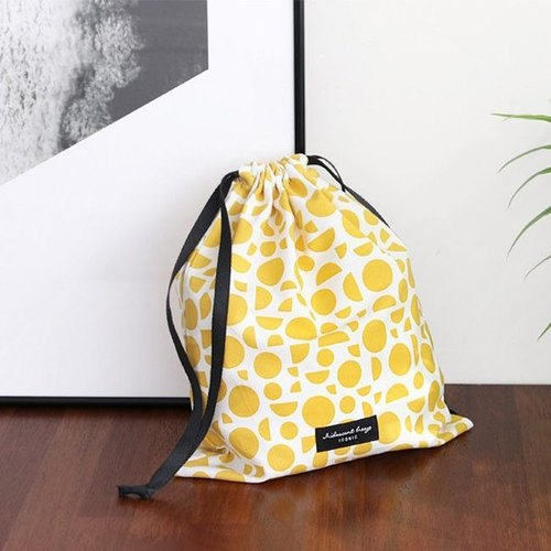 Iconic travel accessories - beam storage bag L-geometry yellow, ICO89001