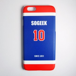SO GEEK phone shell design brand THE JERSEY GEEK shirts back number Customized paragraph 062