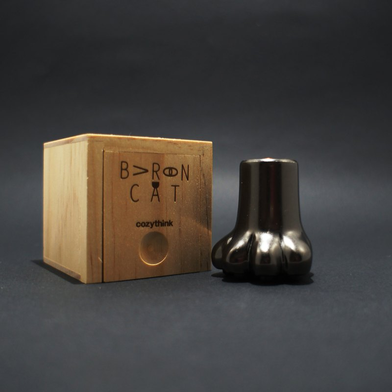Baron Cat﹝Pen Stand & Sealing Wax Chapter﹞/【曜青】/ Plated Bronze