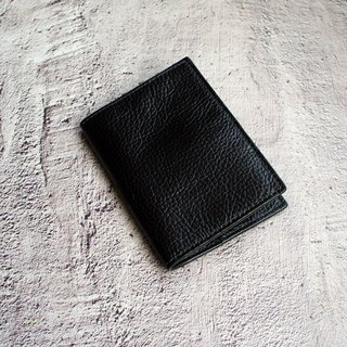 My Little Travel - Classic Black Leather Passport Passport Set Passport Clip