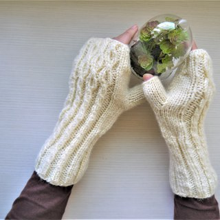 Hand knitting wool gloves ~ Uncle Wen Qing love gloves