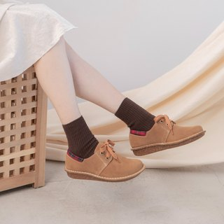 Japanese sweet suede shoes _ cocoa brown
