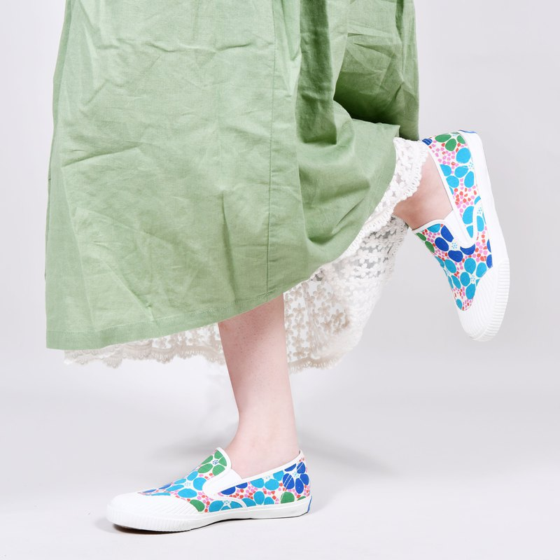 EASY limited edition floral lazy shoes - youth paper flowers