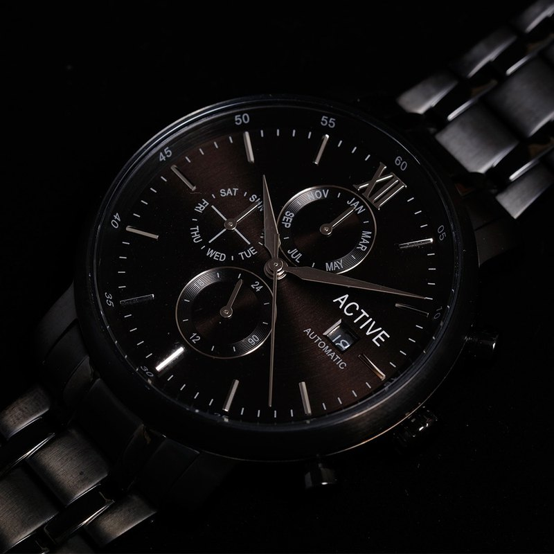 ACTIVE Automatic Collection – All Black Bracelet