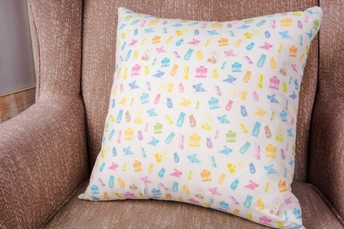 Cushion-Colorful Jelly Bean