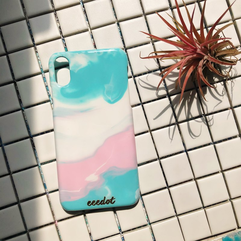 IPHONE X/XS | Hand-painted phone case | Candy series