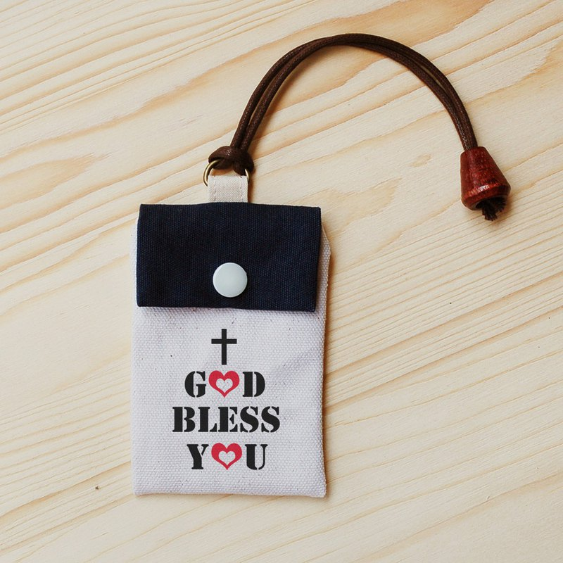 Gospel _god bless you card bag / leisure card set