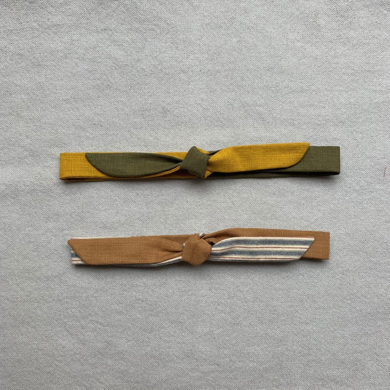 Island Senjia / Fine Hair Strap / Simple