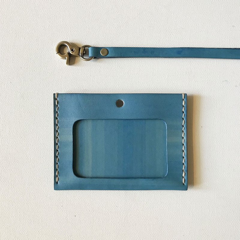 ID card holder + neckband │ horizontal │ double card │ ID Holder