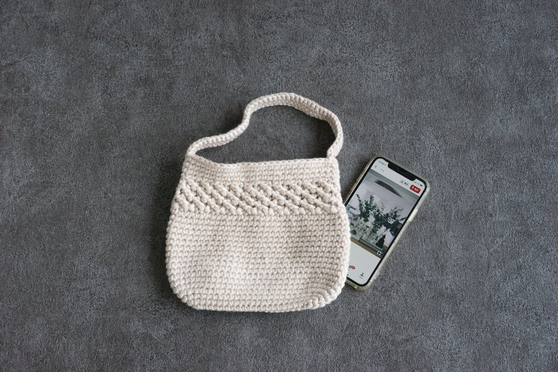 Comfortable Hand Crochet Bag Free S/H HK MO TH