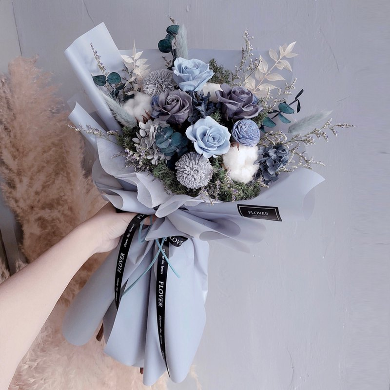 Morandi Grey Everlasting Bouquet