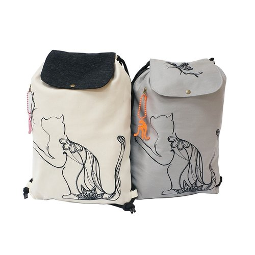 【Is Marvel】Butterfly hide and seek kitten backpack