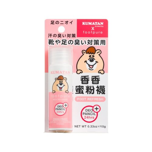 【Kumatan limited section - let the feet dry, comfortable and fragrant】 fragrant honey powder socks / 10g