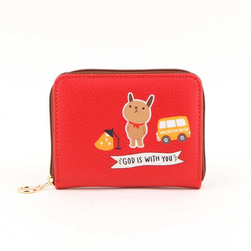 Hello Jenny Story Card Wallet 02. Apple Red