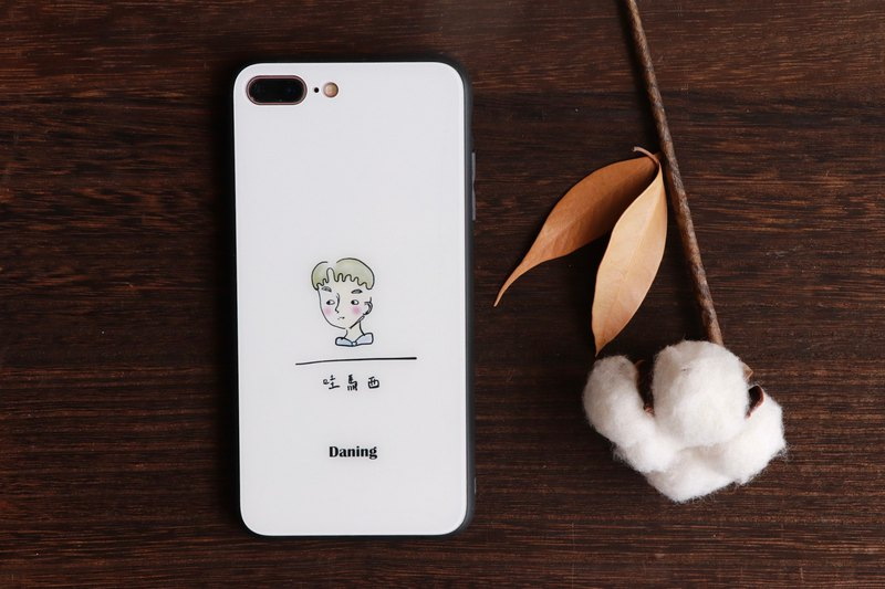 Confession series glass phone case
