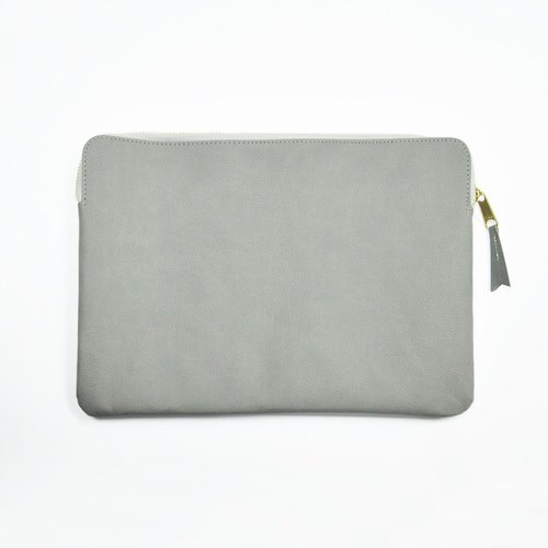 "Bellagenda 10.5"" Tablet Bag Customized Branded Pouch Bag Cover Grey"