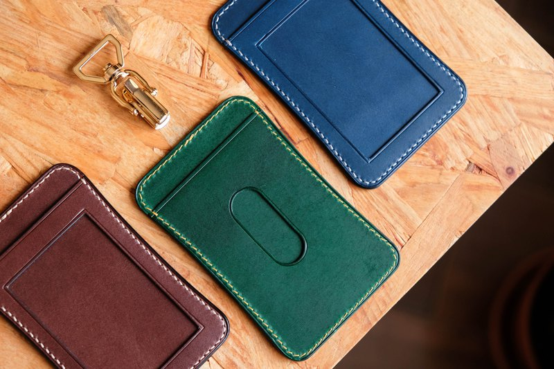 ID Card Holder Vegetable tanned leather