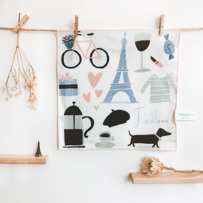 Paris days | wash cloth