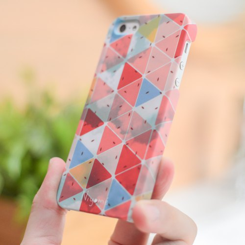 The red triangle iphone case for iphone5s, 6s, 6s plus, 7, 7+, 8, 8+, iphone x