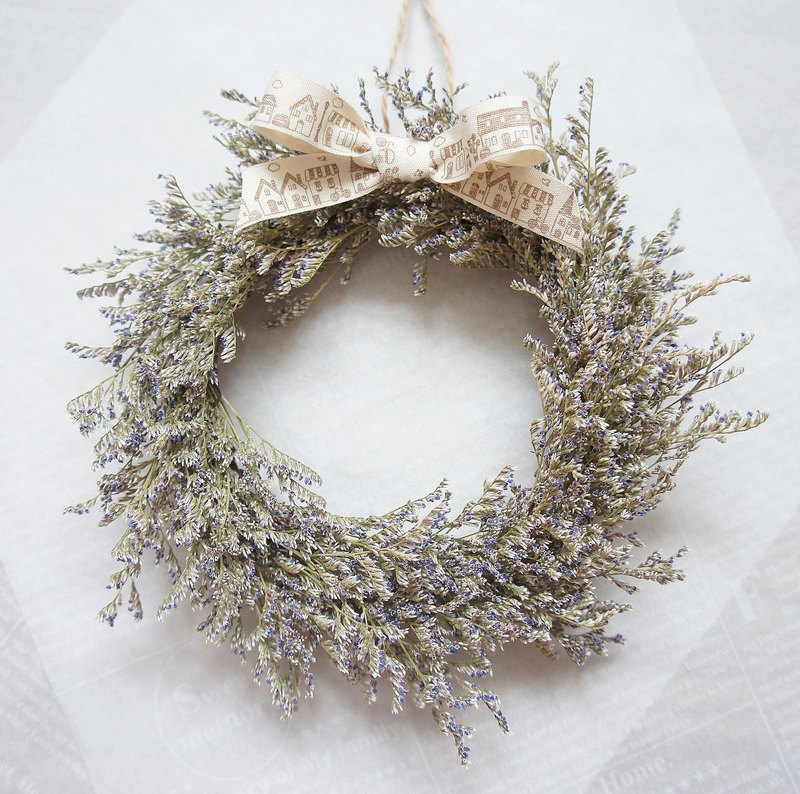 Hand-made dry wreaths - swim in South Fascistia dry wreaths ~