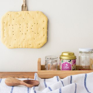 TUC Cracker Linen Trivet cum Pot Holder