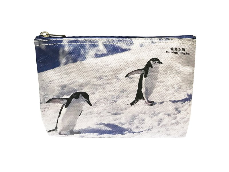 Sunny Bag x Lin Honger Multifunctional Stationery Bag - Cap with Penguin Chinstrap Penguins