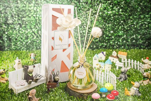Choi Yang Garden Fragrance Diffuser Bottles SPARKLING GARDEN (Honey Love cocktail flavor)