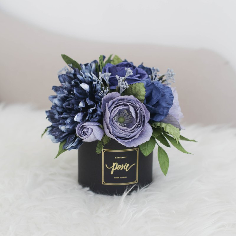 BIG BROTHER Aromatic Large Gift Box Handmade Paper Flowers