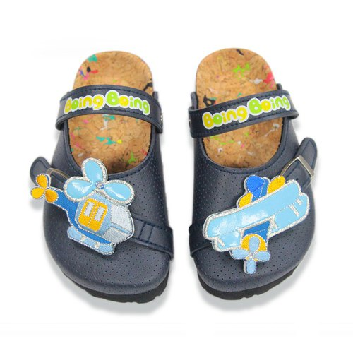 Boing toddler's cork sandals color deep blue