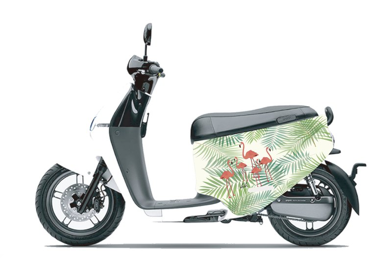 BLR gogoro 2 series flamingo anti-scratch car cover double-sided pattern