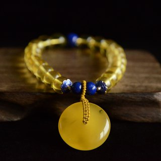 [Amber heart is safe] amber bracelet