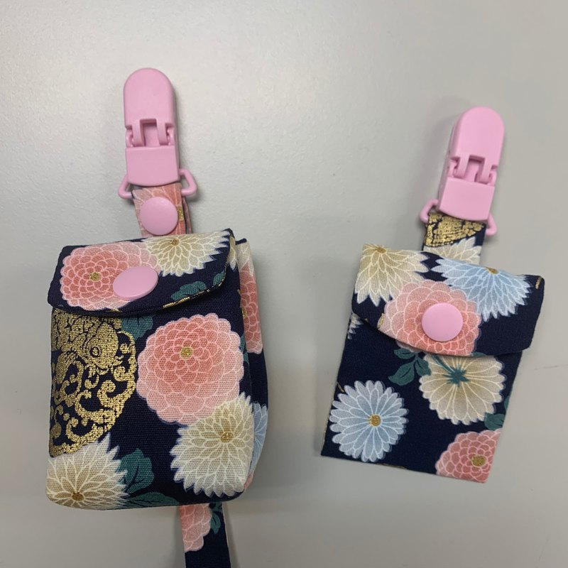 The pacifier bag nipple bag that protects the villain-Japanese flower ball chrysanthemum