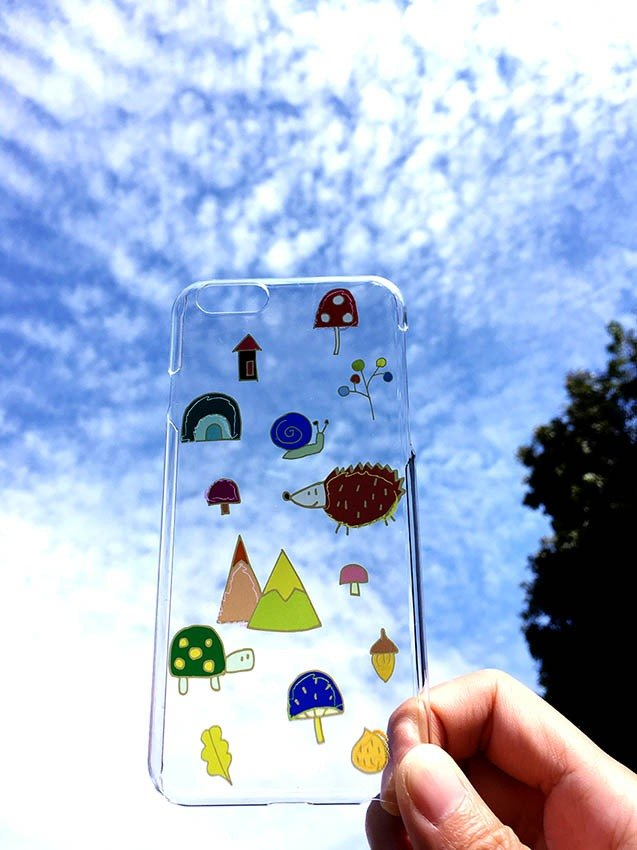 Animal forest-Transparent Phone Cover